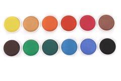颜色水 免版税库存照片