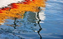 颜色水 免版税库存图片