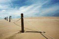 颜色沙丘波兰 库存图片