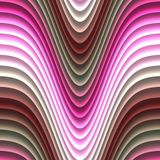 颜色波浪引起了无缝的纹理 库存照片