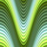 颜色波浪引起的纹理 库存图片