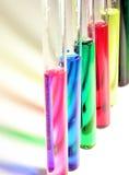 颜色液体 库存图片