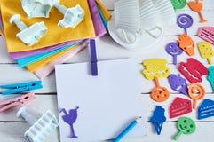 颜色玩具 库存图片