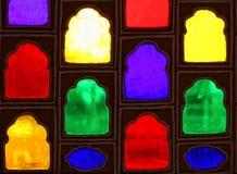 颜色玻璃窗 库存照片