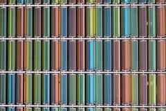 颜色玻璃 免版税图库摄影