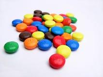 颜色甜点 库存图片