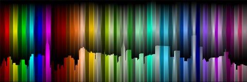颜色的纽约 免版税库存照片