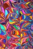 颜色的艺术品样式 免版税库存图片