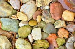 颜色石头 库存图片