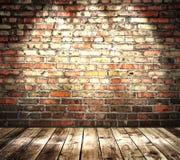 颜色砖墙 免版税库存图片