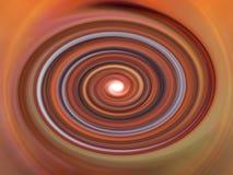 颜色神秘的漩涡 库存图片