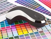 颜色管理 图库摄影
