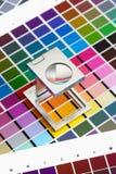 颜色管理 库存图片
