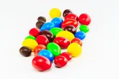 颜色糖果 免版税库存图片