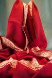颜色红色围巾 图库摄影