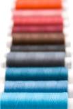 颜色纱线 免版税图库摄影