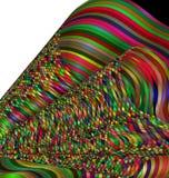 颜色线的被仿造的图象 免版税图库摄影