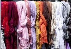 颜色织品 图库摄影