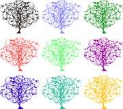 颜色结构树 库存照片
