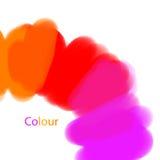 颜色绘画轮子 免版税库存照片