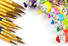 颜色绘画 免版税库存图片
