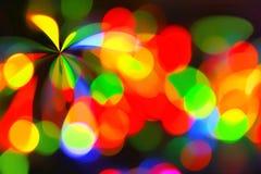 颜色聚光灯背景 免版税库存照片