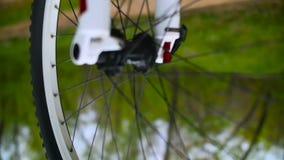 颜色自行车轮子转动 影视素材