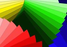 颜色范例 免版税库存照片