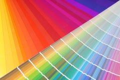 颜色范例 免版税库存图片
