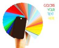 颜色范围 库存图片