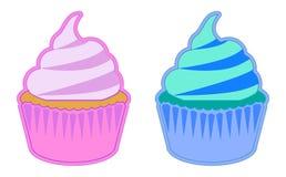 颜色蛋糕 库存照片