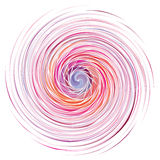 颜色螺旋传染媒介 向量例证