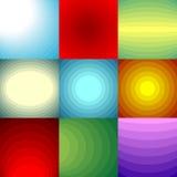 颜色被设置的混合背景 免版税库存图片