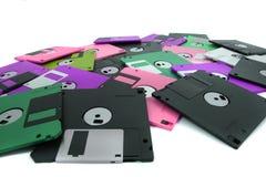 颜色被隔绝的fdd盘 免版税库存图片