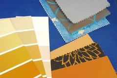 颜色设计选择 免版税库存图片