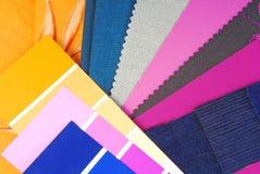 颜色设计选择 库存照片