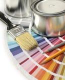颜色设计 免版税库存图片