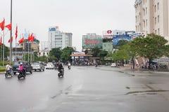 颜色越南城市 免版税库存图片