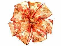颜色透亮秋天的丝带 库存照片