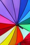 颜色遮阳伞 免版税库存照片
