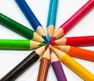 颜色重点 免版税库存照片