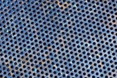 颜色金属栅格地板样式 免版税图库摄影