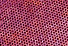 颜色金属栅格地板样式 免版税库存图片