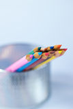 颜色铅笔 免版税库存图片