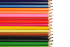 颜色铅笔 图库摄影