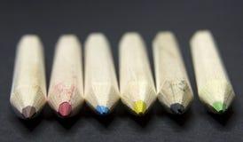 颜色铅笔 向量例证