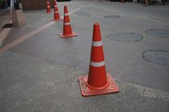 颜色锥体封入物路集合业务量 库存图片