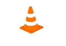 颜色锥体封入物路集合业务量 库存例证
