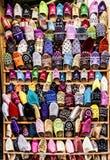 颜色鞋子 图库摄影