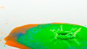 颜色飞溅 库存图片